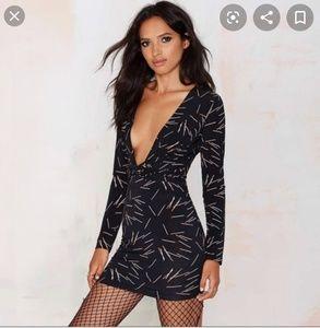 Nasty Gal Matchstick Dress XS